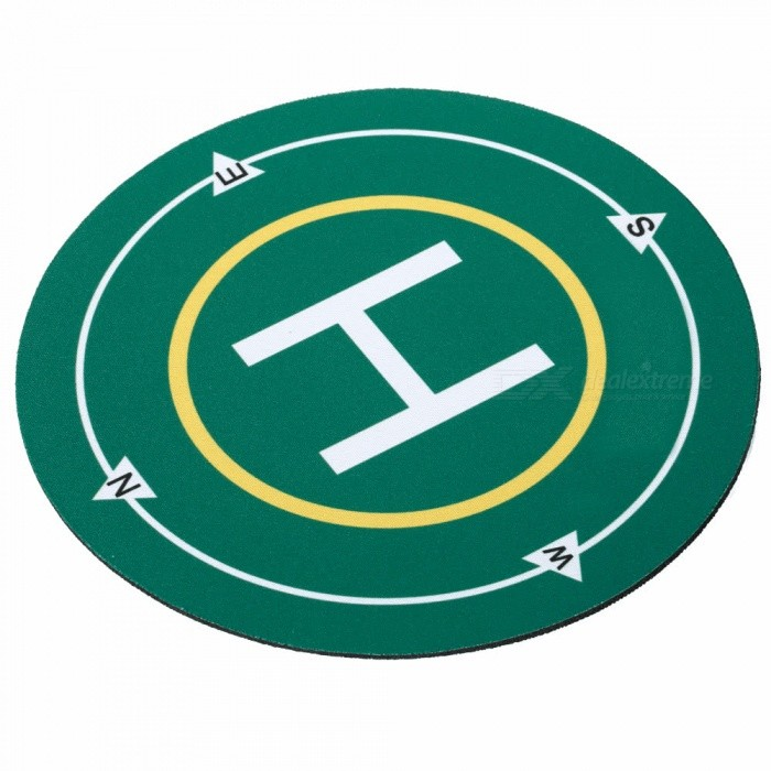 20cm Landing Pad for DJI Spark FPV Quadcopter RC Helicopter - GreenOther Toys<br>Form  ColorGreenMaterialRubber + clothQuantity1 DX.PCM.Model.AttributeModel.UnitSuitable Age Grown upsPacking List1 x Landing pad<br>