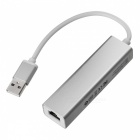 BSTUO USB 2.0 to RJ45 Fast Ethernet Adapter Cable w/ 3-Port USB HUB