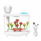 460ml-Ultrasonic-Cool-Mist-Humidifier-with-Night-Light-for-Home-White