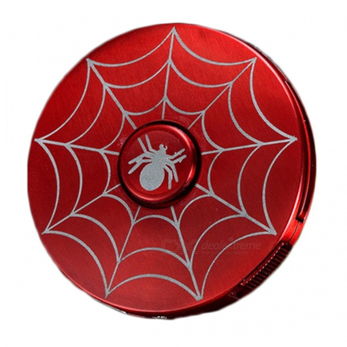 ZHAOYAO-Spider-Man-Style-Cigar-Lighter-2b-Fidget-Spinner-w-LED-Red