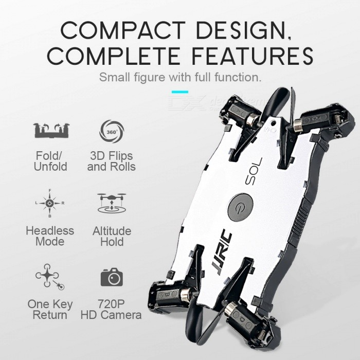 JJRC H49WH SOL WiFi FPV Ultrathin Foldable Selfie Drone 720P Camera
