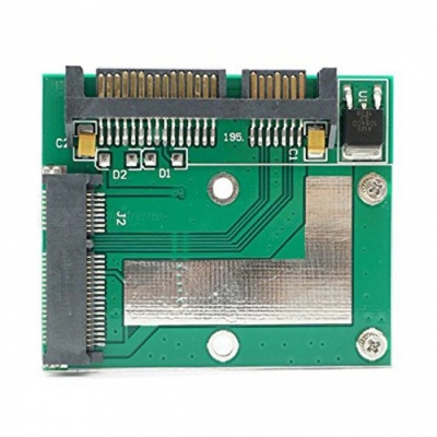 mSATA SSD Adapter to Half Height Size 2.5 inch SATA Card