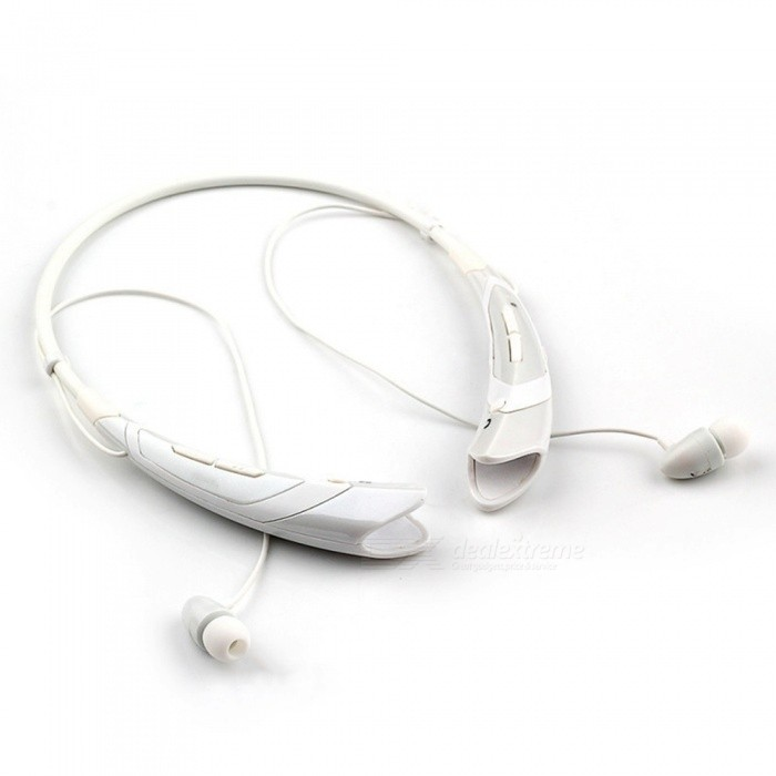 Buy Sports Wireless Bluetooth Headset Headphones for Running - White with Litecoins with Free Shipping on Gipsybee.com