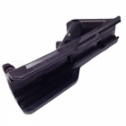 ACCU Universal New Plastic Grip med 20mm Rail for Gun Rifle-svart