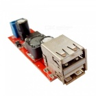 DC-DC 3A Dual USB Output Buck Regulator Power Supply Module