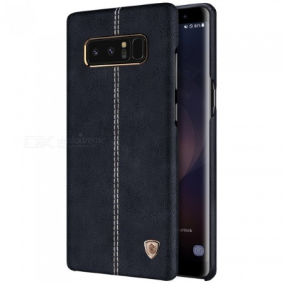 Nillkin Englon PU Leather Cover Case for Samsung Galaxy Note 8 - Black