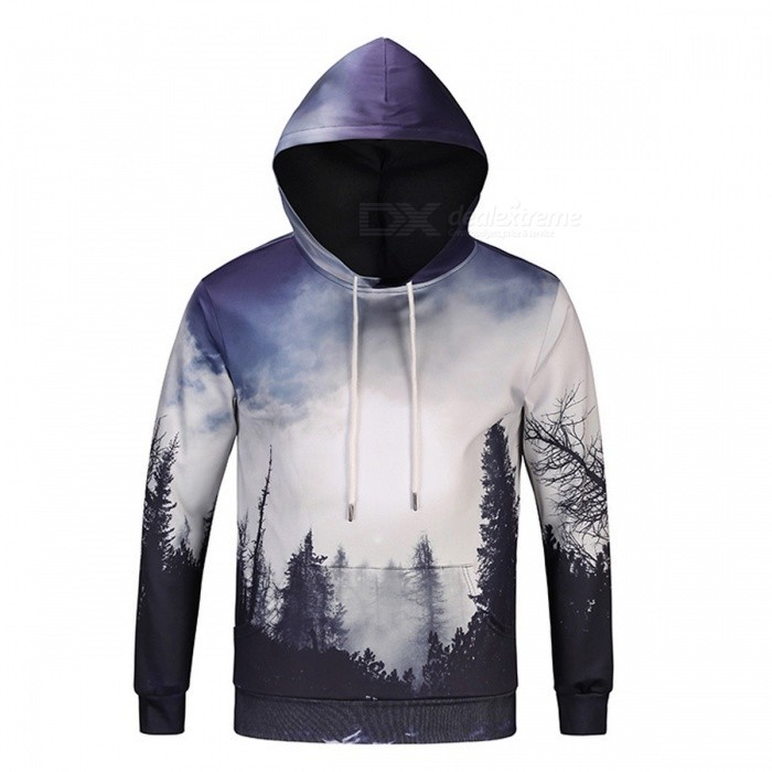 Tree 3D Unisex Sweatshirt Hoodies with Hat