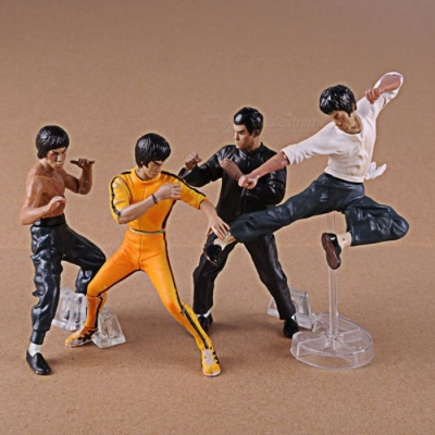 4-Piece Simulation Animation People Model Toy