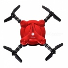 HUAXIANG Folding Wi-Fi Real-Time 4CH 4-Axis Quadcopter - Dark Red