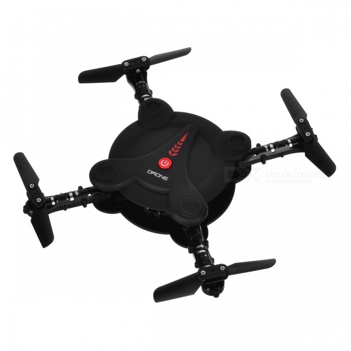 HUAXIANG Folding Wi-Fi Real-Time 4CH 4-Axis Quadcopter - Black