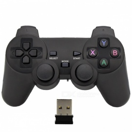 Joystick-Wireless-Receiver-Gamepad-USB-Game-Pad-Controller-Black