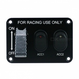 IZTOSS-S2690-Z-12V-3-Set-Switch-Panel-with-Light-for-Racing-Use