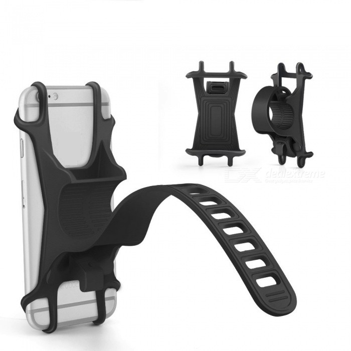 Buy Bicycle Mount Phone Holder for 4-6 Inch Phones with Litecoins with Free Shipping on Gipsybee.com