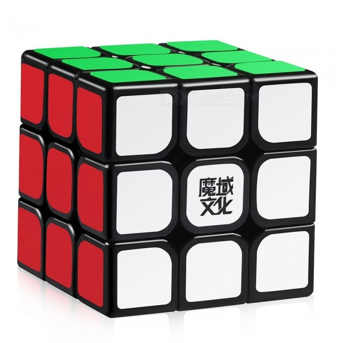 Moyu Aolong 3x3x3 Stickerless Speed Magic Cube Puzzle - BlackMagic IQ Cubes<br>Form  ColorBlack BackgroundModelN/AMaterialABSQuantity1 DX.PCM.Model.AttributeModel.UnitType3x3x3Suitable Age 3-4 years,5-7 years,8-11 years,12-15 years,Grown upsPacking List1 x Magic Cube<br>