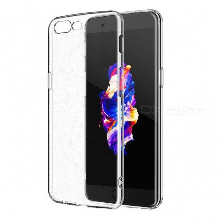 Naxtop TPU Ultra-thin Soft Case for OnePlus 5 - Transparent