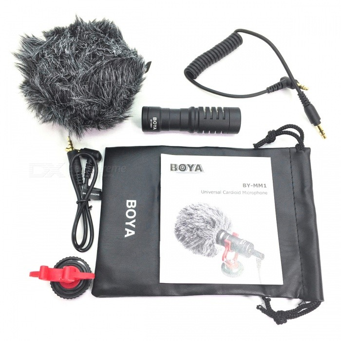 BOYA BY-MM1 Mini Microphone for Mobile Phone SLR Camera