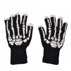 P-TOP-Human-Skeleton-LED-Luminescence-Gloves-Black-(1-Pair)