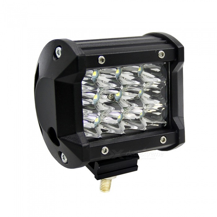 Joyshine 4 36W 6000K Cold White IP67 Two Rows LED Light BarOff-Road Lights<br>Color BINCold White (36W)ModelN/AQuantity1 DX.PCM.Model.AttributeModel.UnitMaterialAviation aluminum shell, PC Lens, 304 stainless steel bracketForm  ColorBlackEmitter TypeLEDChip BrandOthers,PhilipsChip TypeCOBTotal EmittersOthers,12-LEDPower36WColor Temperature6000 DX.PCM.Model.AttributeModel.UnitActual Lumens5500 DX.PCM.Model.AttributeModel.UnitRate VoltageDC10~48VWaterproof FunctionYesConnector TypeOthers,WireApplicationRoof lightCertificationCE &amp; RoHSPacking List1 x 36W Philips LED light bar1 x Mounting Accessories<br>
