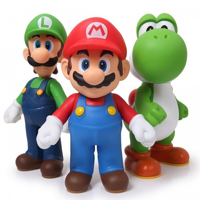 Super Mario PVC Action Figure Collectible Model Toy