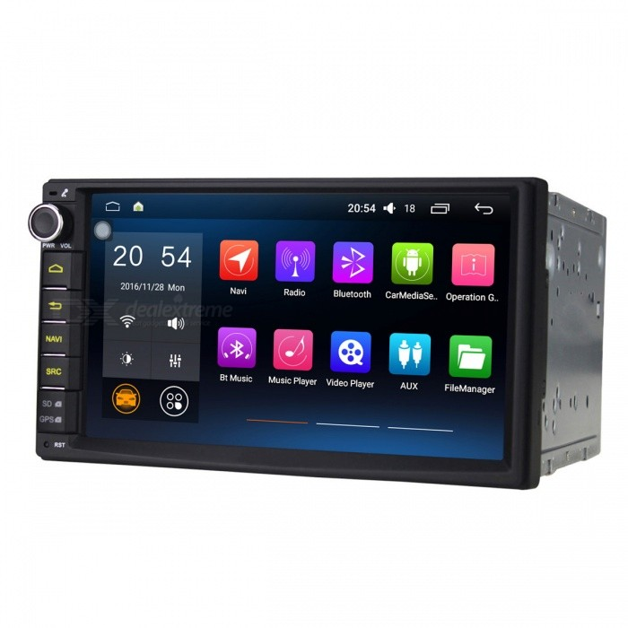 "Joyous J-2820N 1024 x600 Quad-Core 7"" Android 6.0 Universal Car Radio"