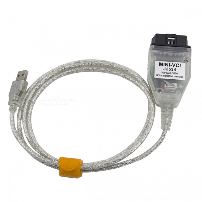 Buy Latest V12.10.019 MINI VCI Interface Cable for TOYOTA TIS Techstream with Litecoins with Free Shipping on Gipsybee.com