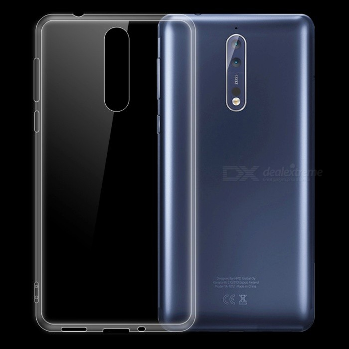 Dayspirit Ultra-Thin Protective TPU Back Case for Nokia 8