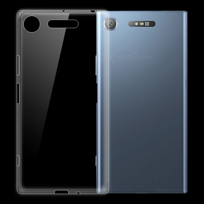 Dayspirit Ultra-thin TPU Back Case for Sony Xperia XZ1TPU Cases<br>Form  ColorTransparentModelN/AMaterialTPUQuantity1 pieceShade Of ColorTransparentCompatible ModelsSony Xperia XZ1Packing List1 x Case<br>
