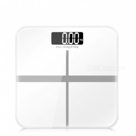 ZHAOYAO-Slim-Household-Electronic-Weight-Scale-with-HD-LCD-Display-White