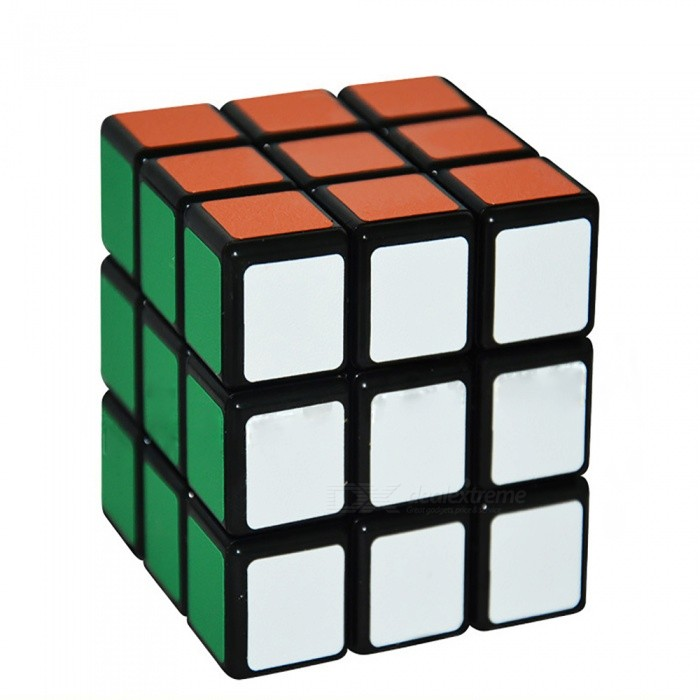 ShengShou 3x3x3 Frosted Stickers Speed Magic Cube Puzzle Toy for Kids Adults