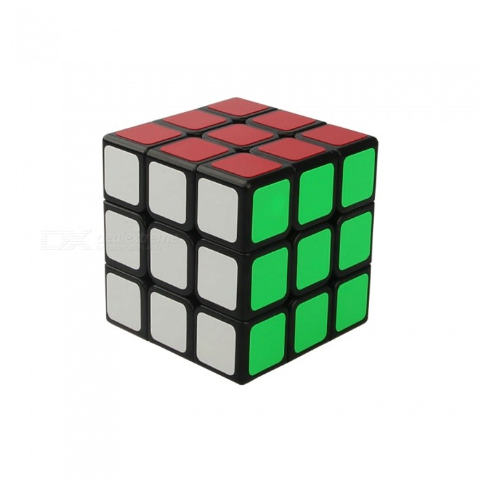 ShengShou 55.5mm 3x3x3 Smooth Stickers Speed Magic Cube Puzzle Toy for Kids Adults - BlackMagic IQ Cubes<br>Form  ColorBlack (Smooth Stickers)ModelN/AMaterialABSQuantity1 DX.PCM.Model.AttributeModel.UnitType3x3x3Suitable Age 3-4 years,5-7 years,8-11 years,12-15 years,Grown upsPacking List1 x Magic Cube<br>