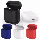 Protective Mini Travel Cover Case Protector Box for Apple Earphone - Black