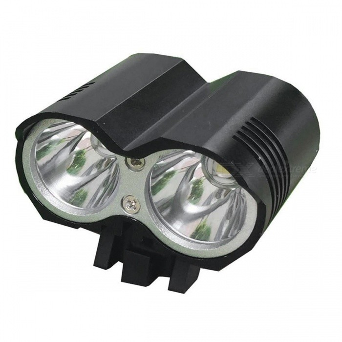 ZHOUAO L2 T6 Owl Shaped Dual Head 4-Mode Super Bright Bike Light