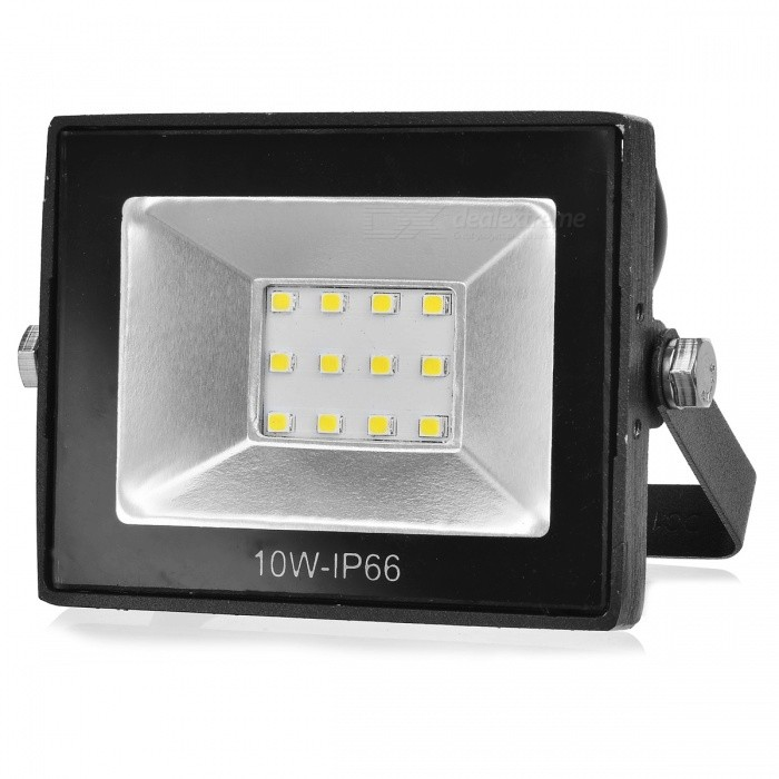 10W 900lm IP65 Waterproof 6500K Cold White LED Floodlight (260V)Floodlights<br>Form  ColorBlackColor BINCold WhiteMaterialAluminumQuantity1 DX.PCM.Model.AttributeModel.UnitWaterproof LevelIP65Power10WRated VoltageOthers,260 DX.PCM.Model.AttributeModel.UnitChip Type5730Emitter TypeLEDTotal Emitters12Theoretical Lumens900 DX.PCM.Model.AttributeModel.UnitActual Lumens900 DX.PCM.Model.AttributeModel.UnitColor Temperature12000K,Others,6000-6500KDimmableNoBeam Angle120 DX.PCM.Model.AttributeModel.UnitPacking List1 x Floodlight<br>