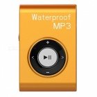 KELIMA-Sports-Waterproof-Clip-on-Lossless-Music-MP3-Player-with-Earphones-Orange-(4GB)