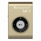 KELIMA-Sports-Waterproof-Clip-on-Lossless-Music-MP3-Player-with-Earphones-Golden-(4GB)
