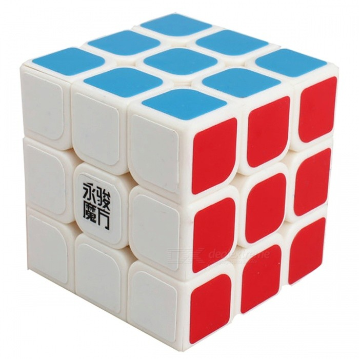 YJ YuLong 57mm 3x3x3 Smooth Speed Magic Cube Puzzle Toy for Kids, Adults - WhiteMagic IQ Cubes<br>Form  ColorWhite (57mm)ModelN/AMaterialABSQuantity1 DX.PCM.Model.AttributeModel.UnitType3x3x3Suitable Age 3-4 years,5-7 years,8-11 years,12-15 years,Grown upsPacking List1 x Magic Cube<br>