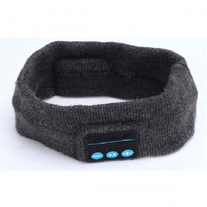 Wireless Bluetooth Headscarf - GrayForm  ColorDark GreyModelN/AQuantity1 pieceMaterialN/AGenderUnisexScreen SizeNo cmPowered ByBuilt-in BatteryPacking List1 x Headband<br>