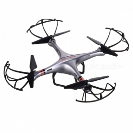 UDIRC-i350H-Explorer-Quadcopter-Four-Axis-Aircraft-with-Barometric-Fixed-Height-Mode-Silver-Grey