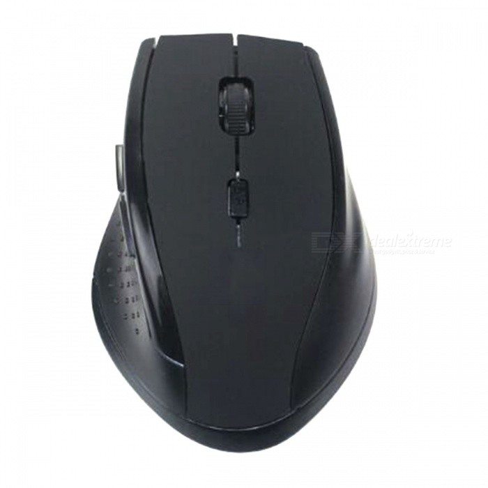Malloom Adjustable 3200DPI USB Receiver Optical Wireless Gaming Mouse for PC LaptopWireless Mouse<br>Form  ColorBlackModelOptical Wireless Gaming MouseQuantity1 DX.PCM.Model.AttributeModel.UnitMaterialABSShade Of ColorBlackInterfaceUSB 2.0Wireless or Wired2.4G WirelessOptical TypeLEDResolution3200DPIOperating Range10 DX.PCM.Model.AttributeModel.UnitBattery included or notNoBattery Number1Supports SystemWin xp,Win7 32,Win7 64,Win8 32,Win8 64,Others,Win10TypeGaming,ErgonomicPacking List1 x Wireless Mouse<br>