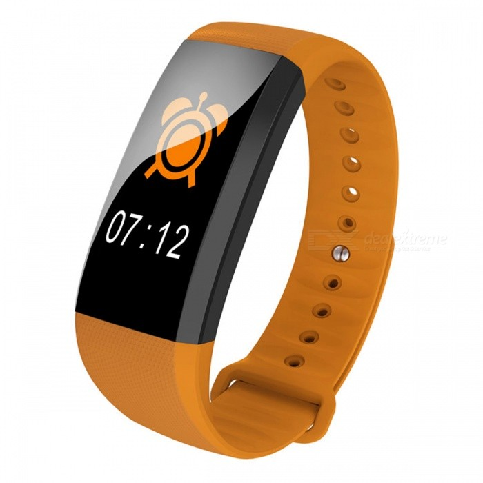 Maikou M99 Sports Color Screen Smart Bracelet Waterproof Wrist Band with Sleep / Blood Pressure Monitoring / Pedometer - Orange