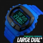 SKMEI 1304 50m Waterproof Men's Digital Sports Watch With Dual Time - Blue