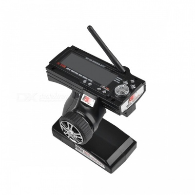 """3.9"""" LCD 2.4Ghz 3CH Transmitter & Receiver for R/C Car and Boat (8*AA)"""