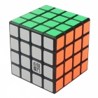 MoYu GuanShu 62mm 4x4x4 Smooth Speed Magic Cube Puzzle Toy for Kids, Adults - Black