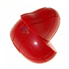 YJ 90x84x48mm Heart Shape Smooth Speed Magic Cube Puzzle Toy for Kids, Adults - Red