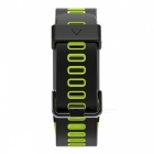 No.1 F4 IP68 Waterproof Smart Bracelet with Blood Pressure Heart Rate Monitor - Green
