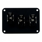 IZTOSS S2689-Z 12V Switch Panel for Car, RV, Racing, Ship, Yacht