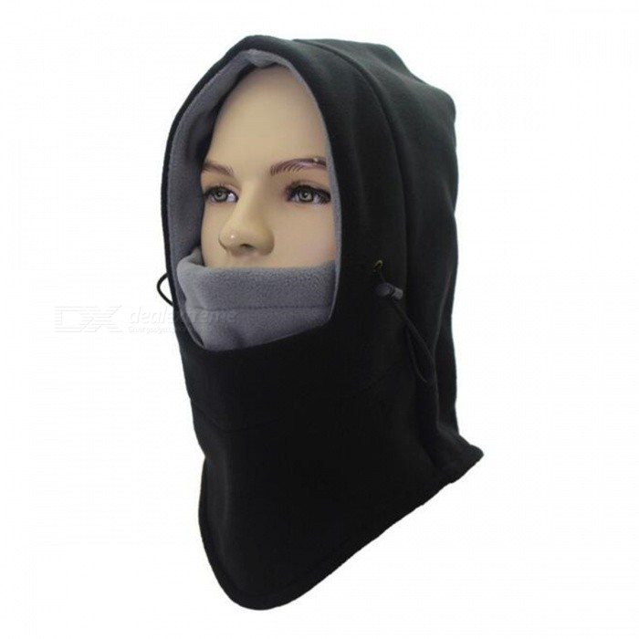 Outdoor Multifunctional Double Fleece Unisex Windproof Face Mask Cap