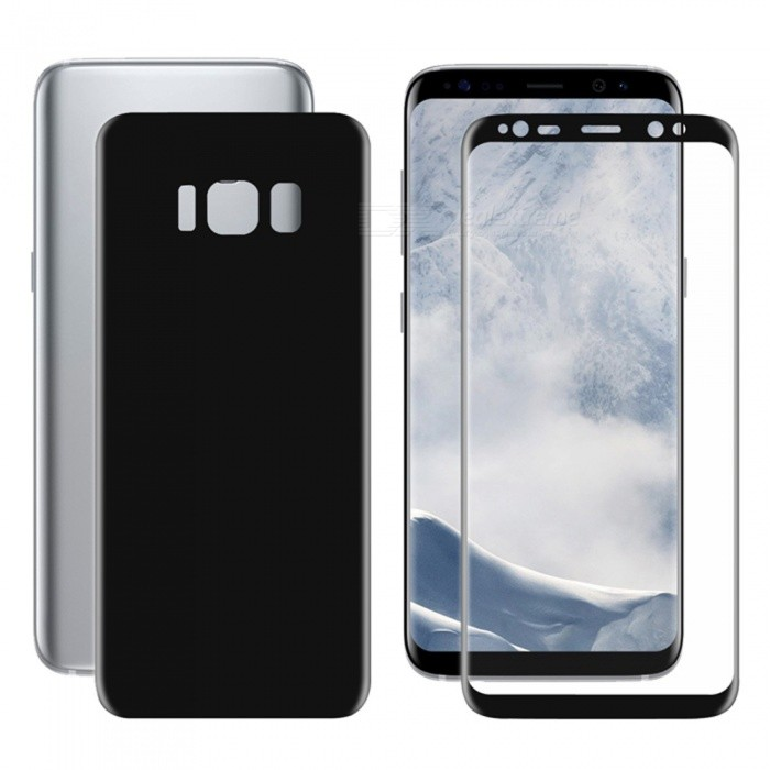 Hat-Prince 3D Full Screen Guard Front + Back Protector Film for Samsung Galaxy S8