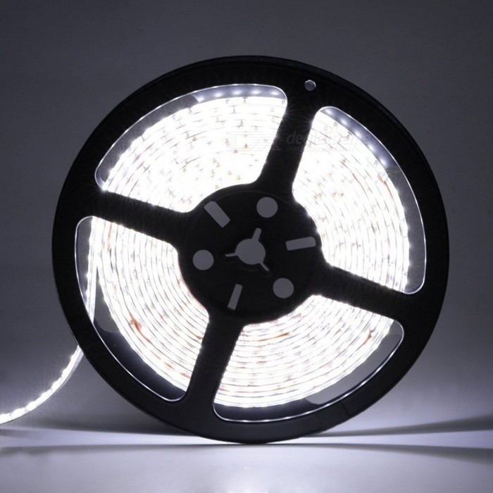 ZHAOYAO Ultrabright Waterproof 90W 5054 SMD 300-LED Strip Light with Wire Connector (DC 12V)Other SMD Strips<br>Form  ColorBlack + Grey + Multi-ColoredColor BINCold WhiteModel5054-300L-whiteMaterialCircuit boardQuantity1 DX.PCM.Model.AttributeModel.UnitPowerOthers,90WRated VoltageDC 12 DX.PCM.Model.AttributeModel.UnitEmitter TypeOthers,5054SMDTotal Emitters300Wavelength0Actual Lumens30-9000 DX.PCM.Model.AttributeModel.UnitPower AdapterOthers,WiringPacking List1 x LED Strip Light<br>