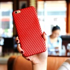 Naxtop PC Hard Protective Back Case for IPHONE 6S Plus, 6 Plus - Red